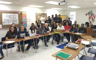 UH-Downtown professor brings college experience to WCS
