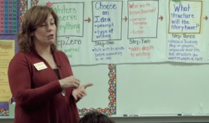 Writing Instruction with Holly Smith (Screen Shot)