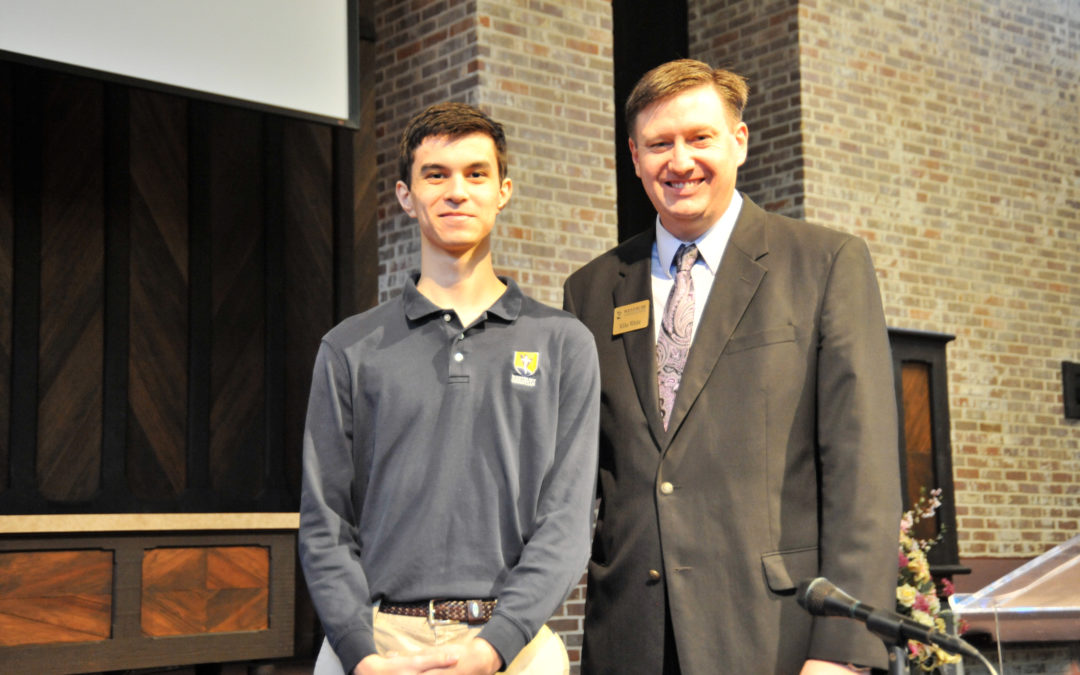 Senior Mitch Watkins named National Merit Commended Student