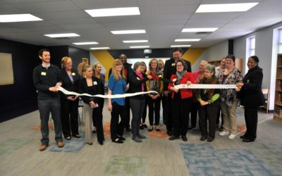 Westbury Christian completes phase one of Partain Library remodel