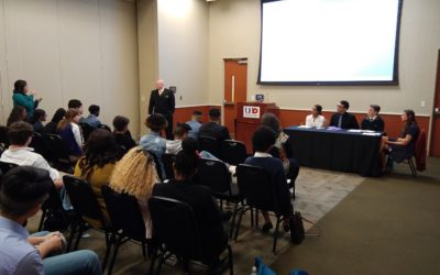 Westbury Christian students present at University of Houston-Downtown research conference